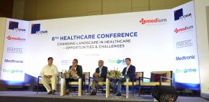 Medium healthcare Knowledge Partner for a AMCHAM Healthcare Conference